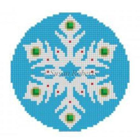 Snowflake Jeweled 1
