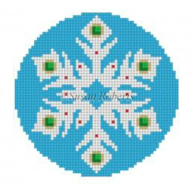 Snowflake Jeweled 1