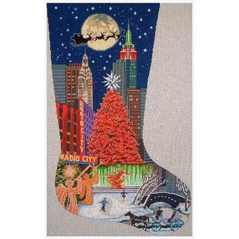New York Christmas Stocking