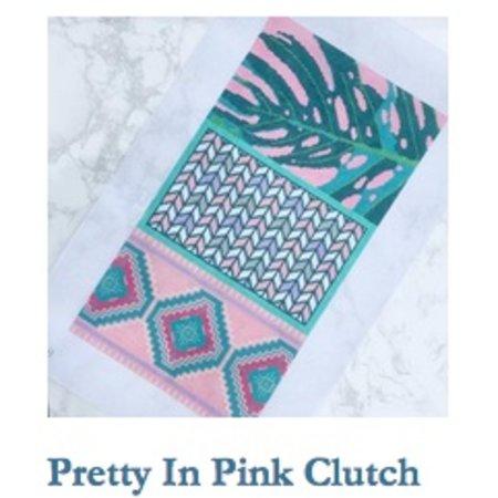 Pretty in Pink Clutch