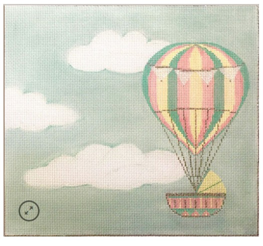 Hot Air Balloon Baby Announcement