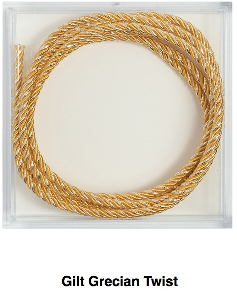 Gilt Grecian Twist Fine