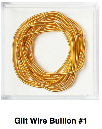 Gilt Wire Bullion #1