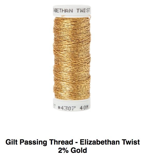Elizabethan Twist 2 Ply Gold