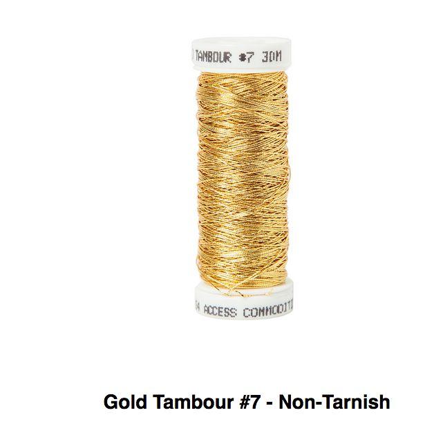 Gold Tambour No.7