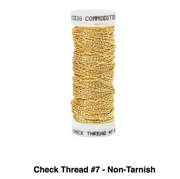 Check Thread #7 Non Tarnish