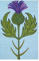 Thistle with Stitch Guide
