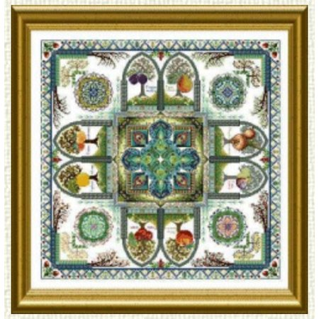 The Medieval Fruit Garden Mandala