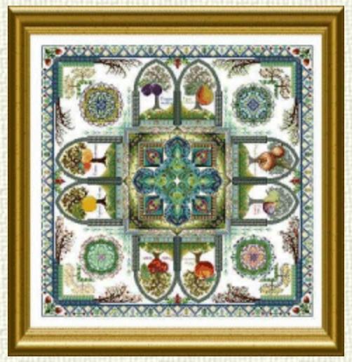The Medieval Fruit Garden Mandala