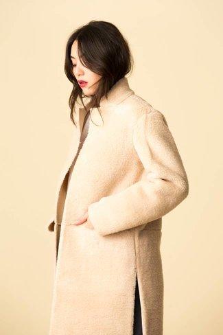 Mijeong Park Mijeong Park Faux Shearling Coat