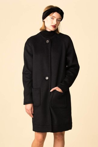 VEDA VEDA Monogram Double Wool Coat