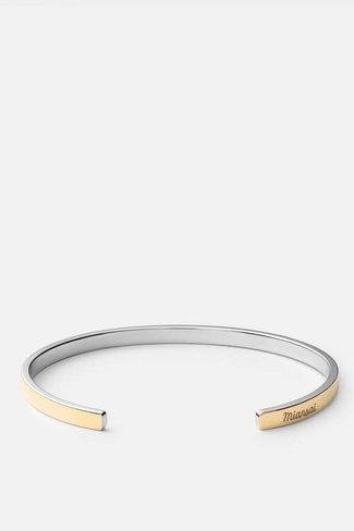 Miansai Miansai Fusion Cuff - Gold/Silver