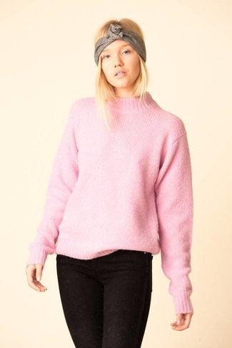Tibi Tibi Cozette Alpaca Sweater Easy Pullover