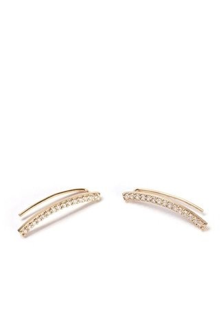 Thatch Thatch Kendra Pave Crawler Earring