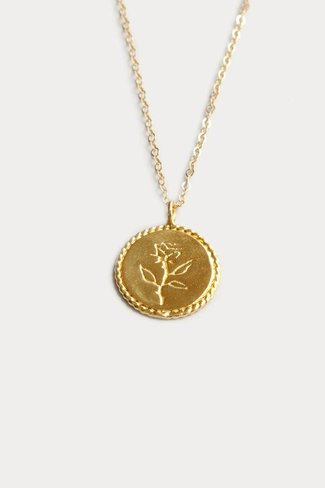 Wolf Circus Wolf Circus Rose Coin Necklace