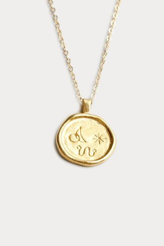 Wolf Circus Wolf Circus Miro Necklace in Gold