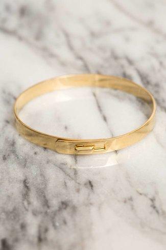 Miansai Miansai Standard Cuff - Gold Vermeil