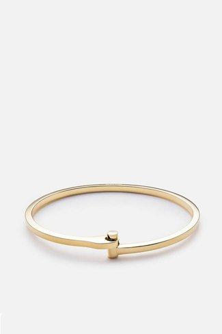 Miansai Miansai Nyx Cuff - Gold Vermeil