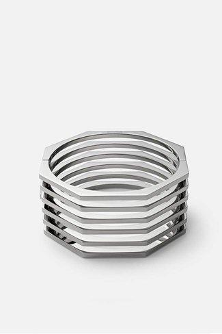 Miansai Miansai Ponti Cuff - Stainless Steel