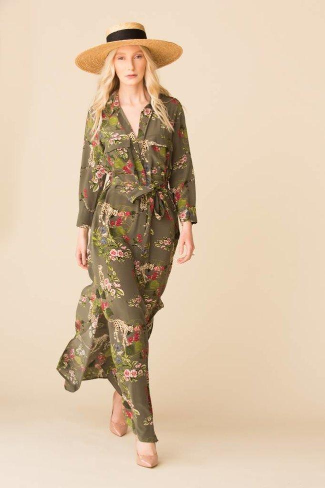 L'Agence L'Agence Cameron Long Shirt Dress