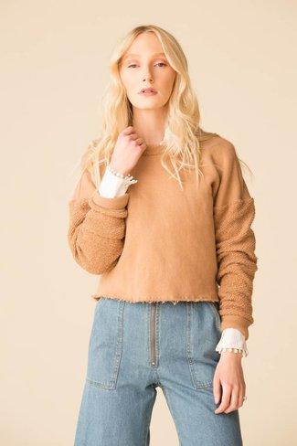 Donni. Donni. Poodle Crop Sweatshirt