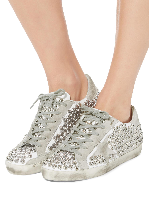 Golden Goose Sneakers Superstar Stud