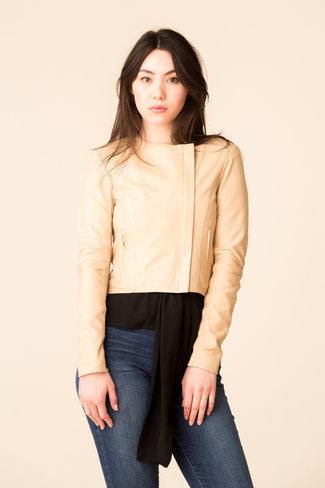VEDA Veda Dali Smooth Leather Jacket