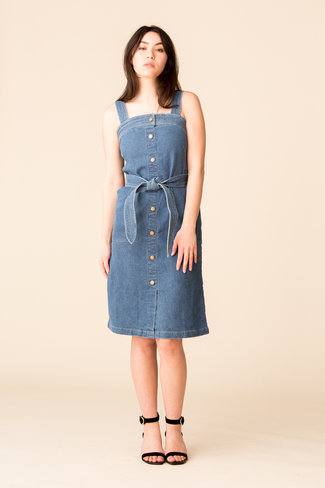 Apiece Apart Apiece Apart Arta Denim Tank Dress