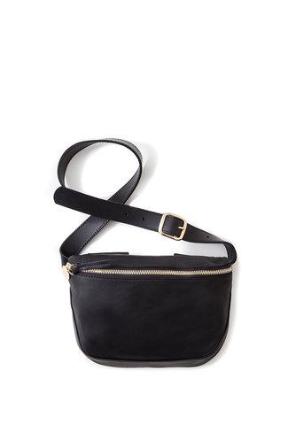Clare V. Clare V. Velvet Leather Fanny Pack