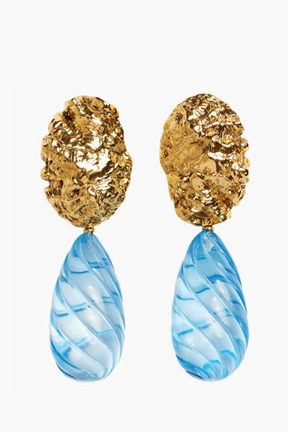 Lizzie Fortunato Lizzie Fortunato Whirlpool Earrings