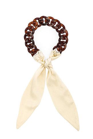 Donni. Donni Tortoise Silk Tie
