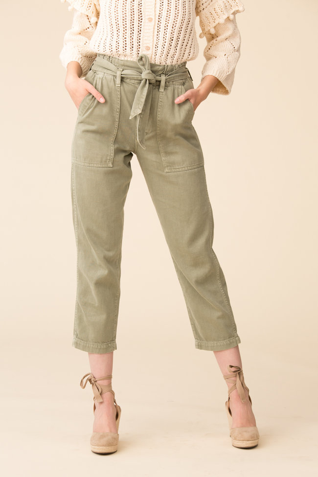 AMO AMO Paperbag Pant Relaxed Straight Leg