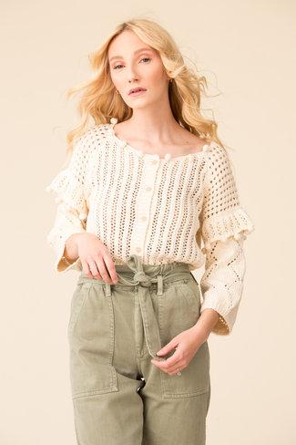 Apiece Apart Apiece Apart Anna Crochet Cardigan