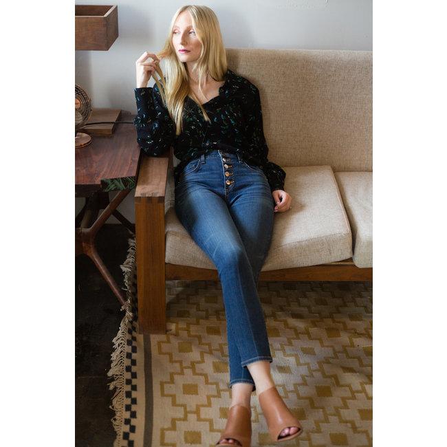 Veronica Beard Veronica Beard Debbie High Rise Skinny Jean