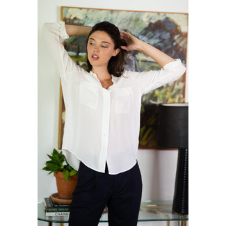 L'Agence L'Agence Lunetta Military Shirt