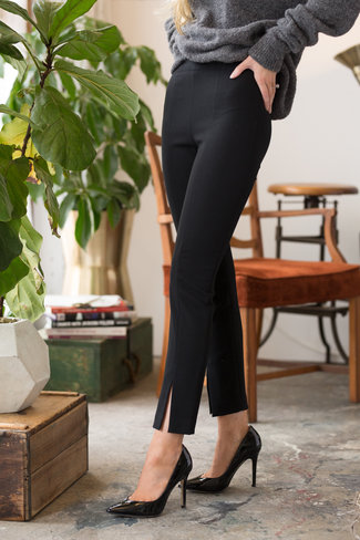 Tibi Tibi Anson Stretch Tailored Ankle Length Legging