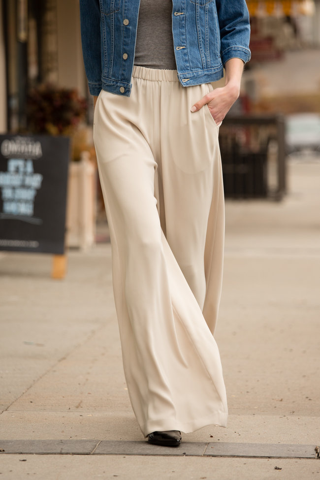 ATM ATM Crepe Pull-On Pant