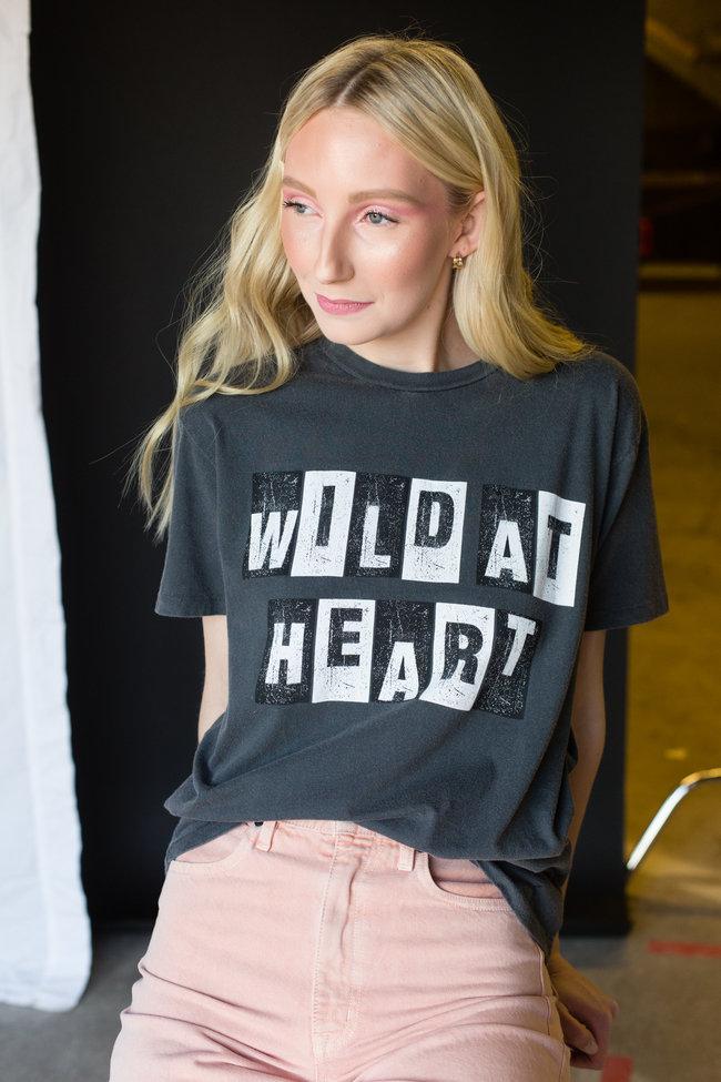 Anine Bing Anine Bing Vintage Tee Wild Heart
