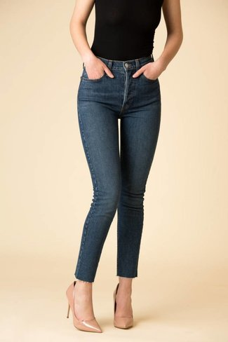 Re/DONE Re/DONE Originals High Rise Ankle Crop - Forever Rinse
