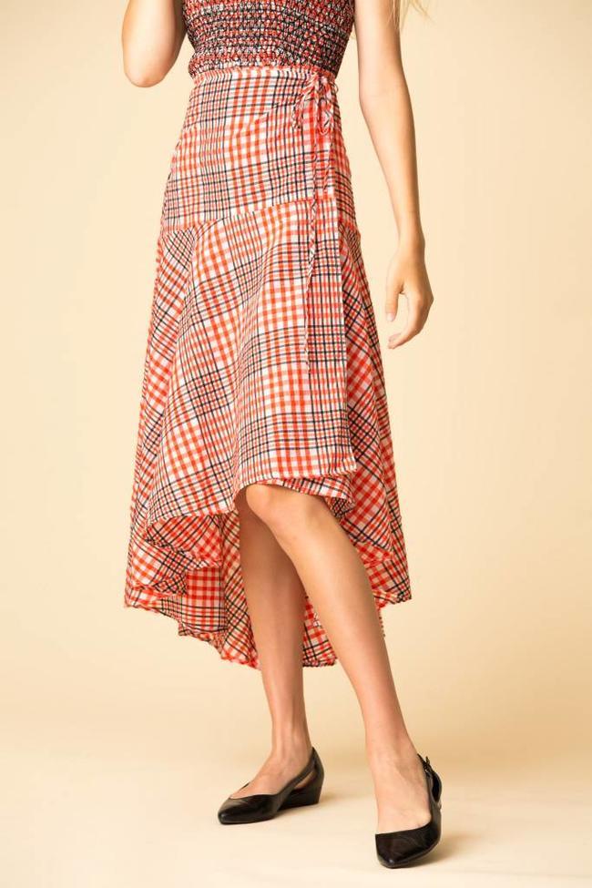 7ab673a00c Ganni Charron Wrap Skirt - The Fold