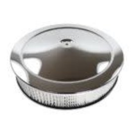 """RPC Air Cleaner - Muscle Car Style with Recessed Base - Round -14″ x 3"""" - R2195"""