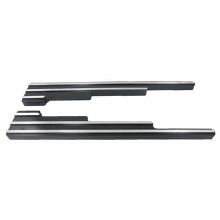 Affordable Street Rods Wire Loom-Finned - Black