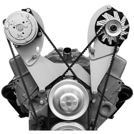Alan Grove Components Compressor Bracket - SBC - Short Water Pump - Passenger Side - 102R