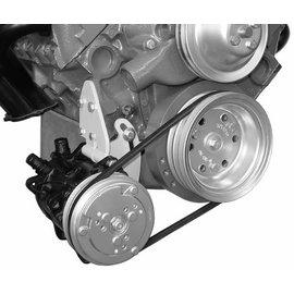 Alan Grove Components Compressor Bracket - Small Block Chevy - Low Mount - Short Pump - Passenger Side - 106R