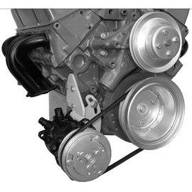 Alan Grove Components Compressor Bracket - SBC - Low Mount - Long Pump - Passenger Side - 107R
