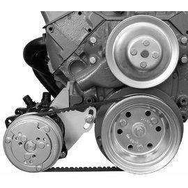 Alan Grove Components Compressor Bracket - Small Block Chevy - Low Mount - Short Water Pump - Passenger Side - 109R
