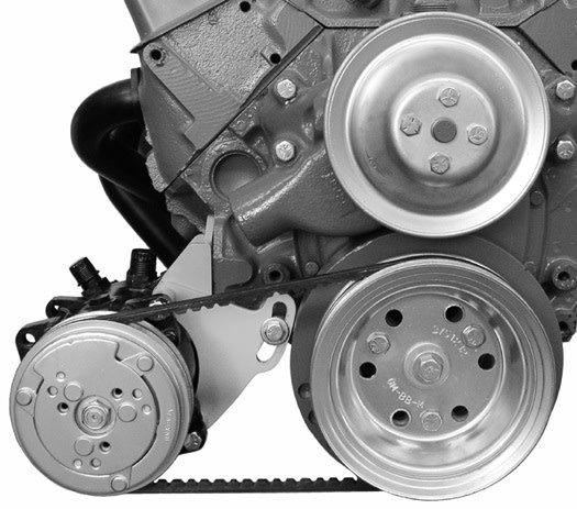 Compressor Bracket - Small Block Chevy - Low Mount - Short Water Pump -  Passenger Side - 109R