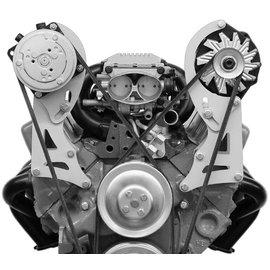 Alan Grove Components Compressor Bracket - Small Block Chevy - Short Water Pump - Passenger Side - 112R