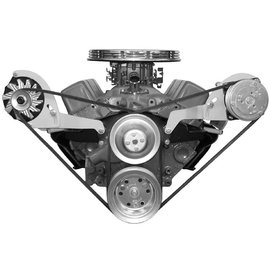 Alan Grove Components Compressor Bracket - Small Block Chevy - Short Water Pump - Driver Side - 113L-SC