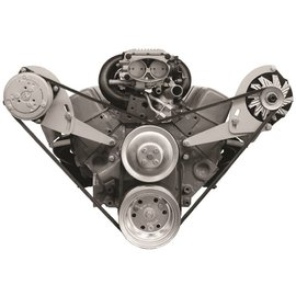 Alan Grove Components Compressor Bracket - Small Block Chevy - Short Water Pump - Passenger Side - 113R
